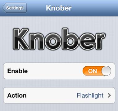Knob retoca Cydia iOS