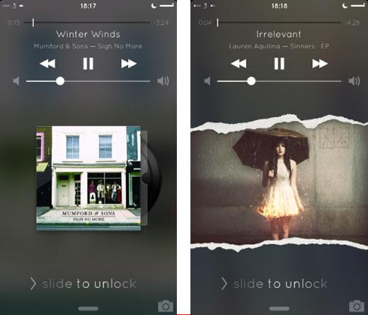 Portada del álbum jailbreak de iOS 7