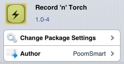Recuerdo n Torch modificar Cydia iOS
