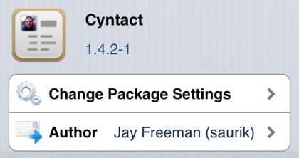 Cyntact retoca el iPhone