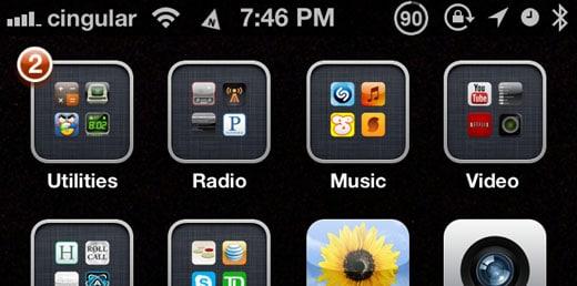 DirectionBar retoca Cydia iOS