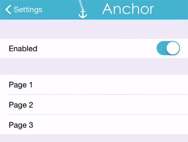 Espacios iOS 8 a la pantalla de inicio