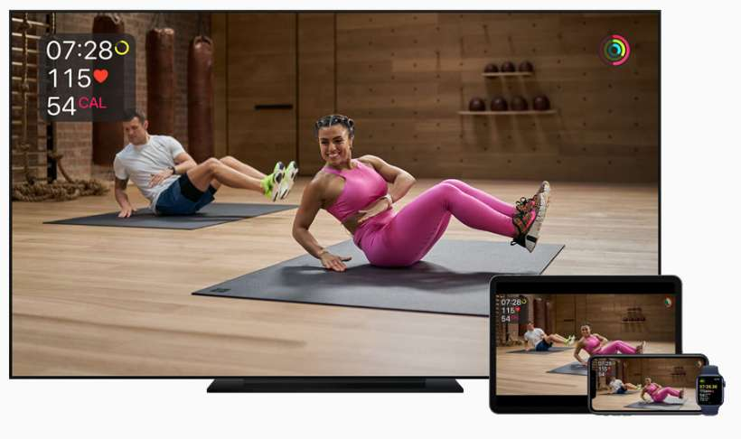 Fitness + entre dispositivos