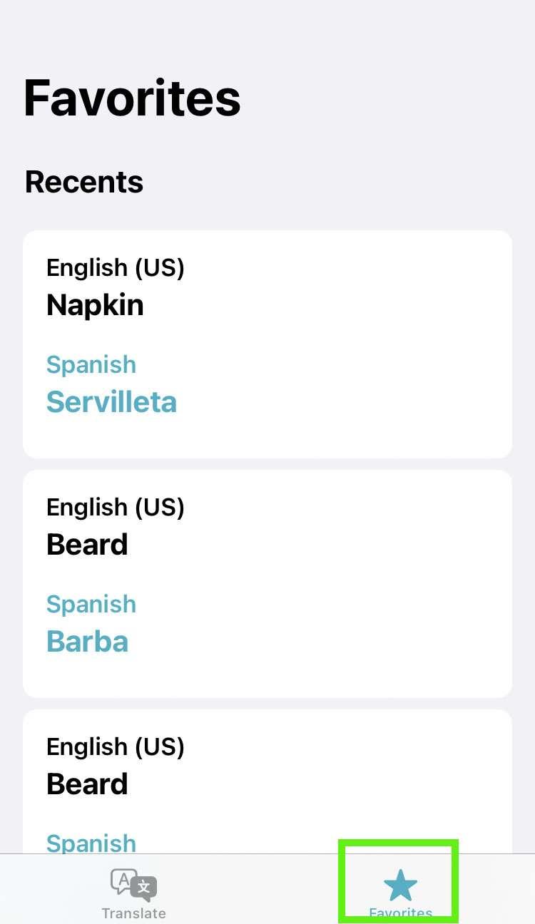 traduce iOS