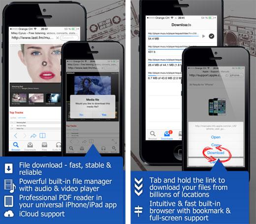 Descarga y reproducción de soportes jailbreak iOS 7