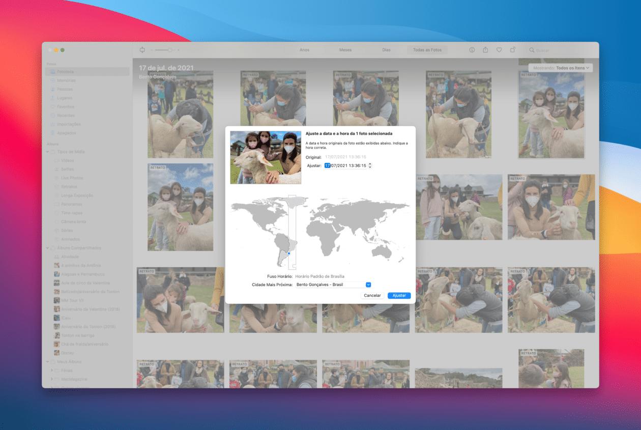 Editar fotos en macOS