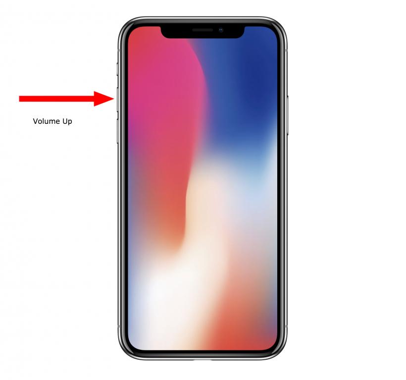 Cómo forzar a reiniciar el iPhone X cuando se ha bloqueado.