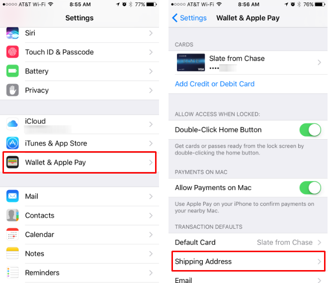 Cómo cambiar, actualizar, añadir y eliminar la dirección de envío de Apple Pay.