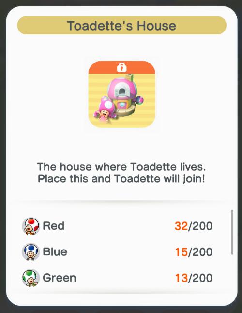 La casa de Toadette