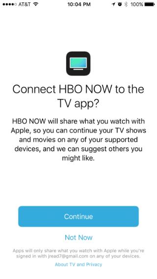 Como enlazar los canales a la aplicación TV de Apple.
