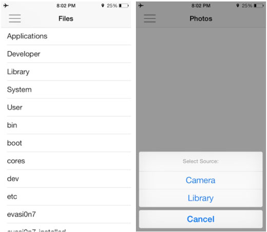 iOS 7 jailbreak AnyDrop