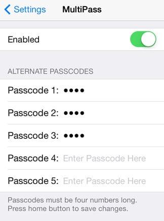 iOS 7 hace jailbreak a varios códigos de contraseña