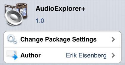 AudioExplorer + ajustar Cydia iOS