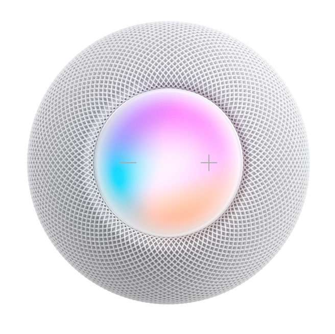 Mini controles HomePod