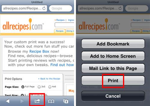 safari de impresión aérea de iPhone ios 4.2