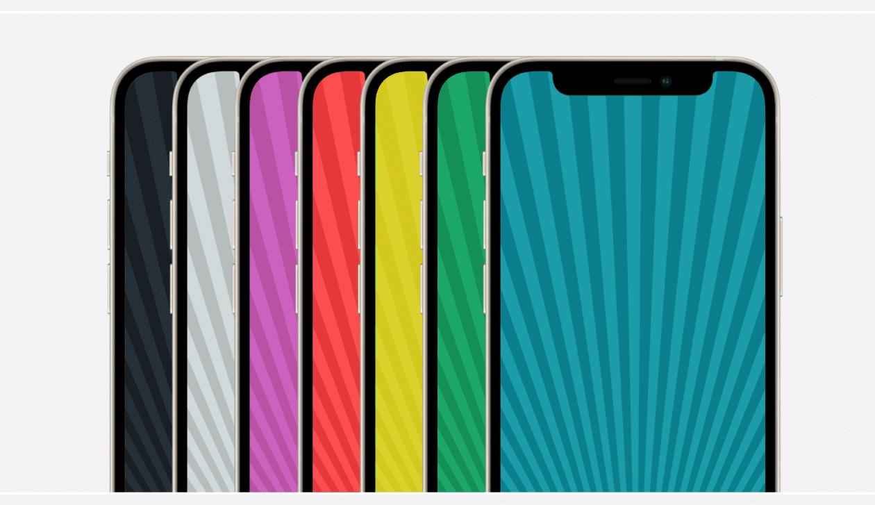 2012 Colección de fondos de pantalla de iPod nano