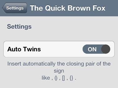 El Quick Brown Fox modifica Cydia iOS