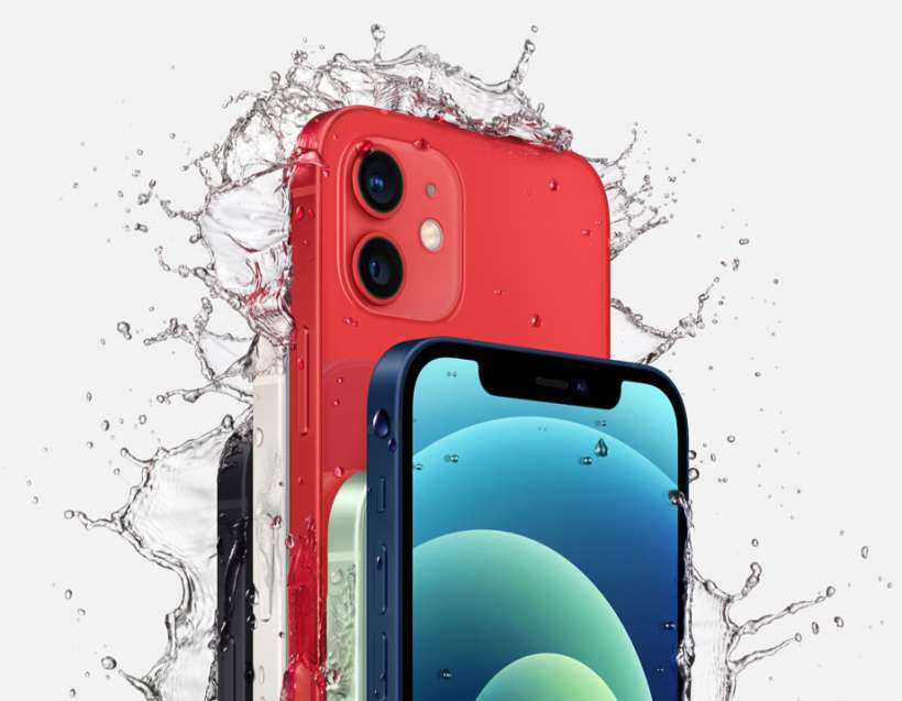 iPhone 12 IP68