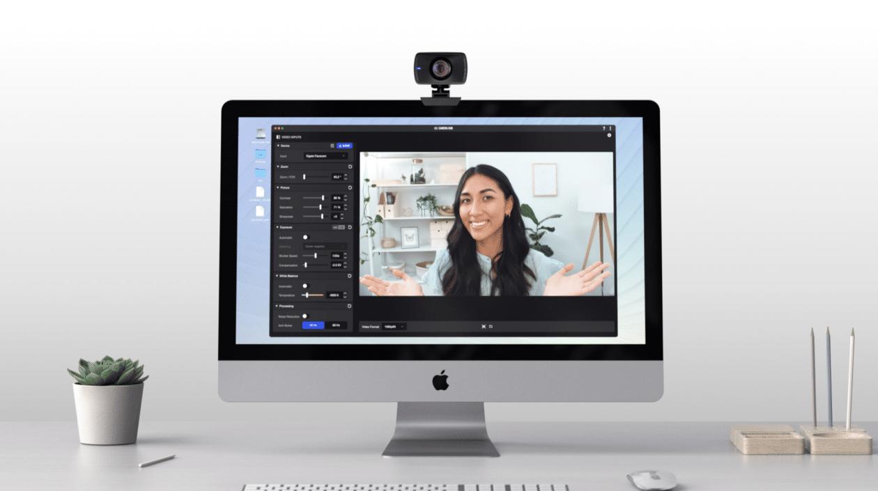 Elgato Facecam con iMac