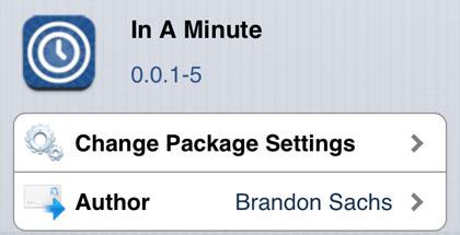 En un minuto, ajuste Cydia iOS