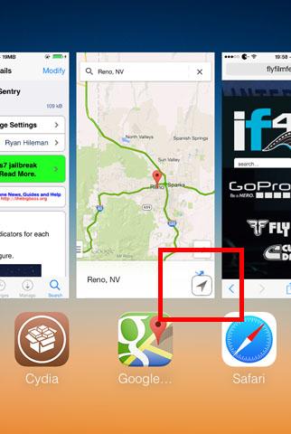 Privacidad de los servicios de ubicación de jailbreak de iOS 7