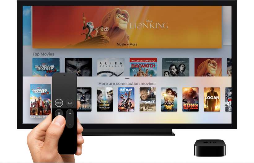 No hay suscripción para utilizar Apple TV.