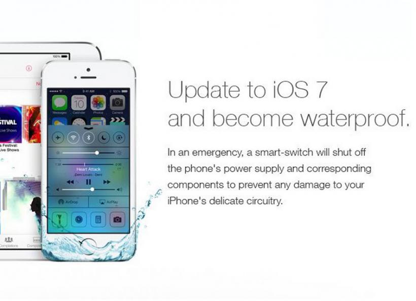 iOS 7 impermeable