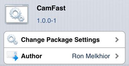 CamFast retoca Cydia iOS