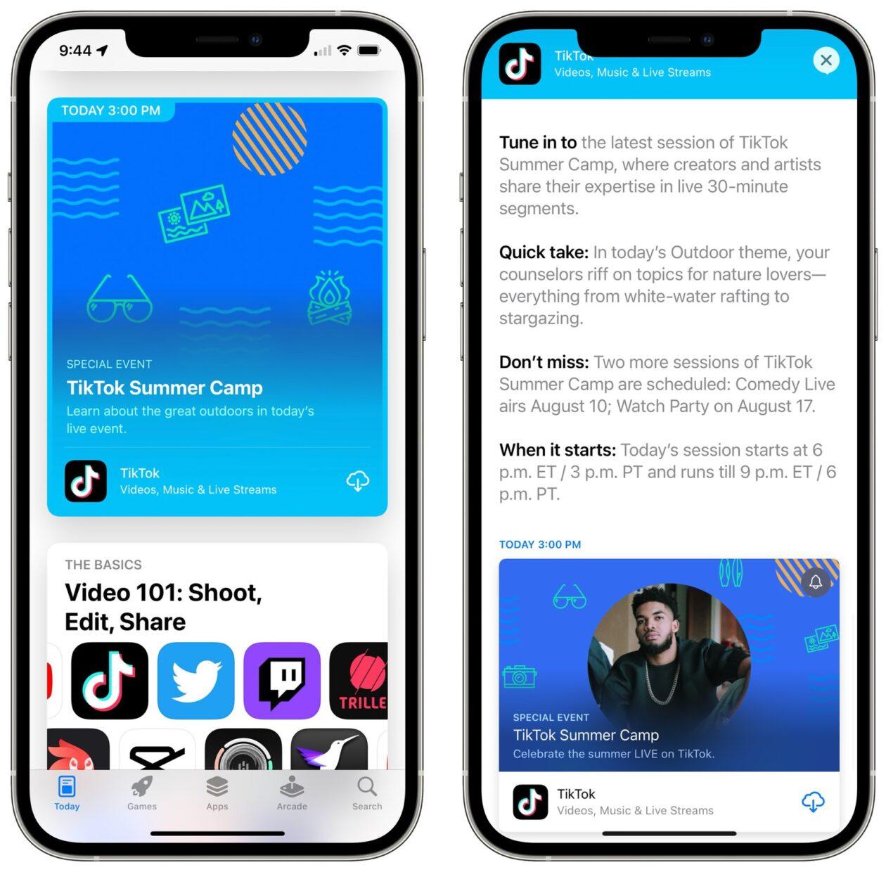Eventos de la App Store