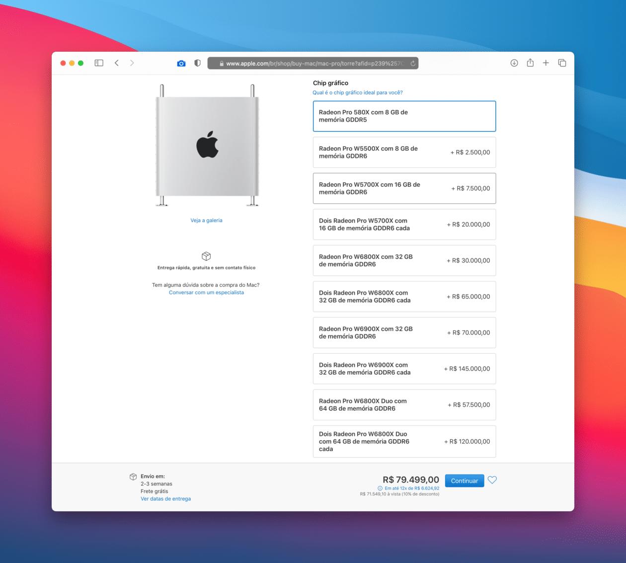 Personalizar la Mac Pro