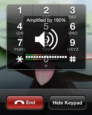 Amplifican el volumen de iOS
