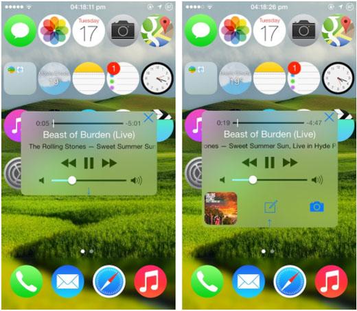 iOS 7 jailbreak Volume +
