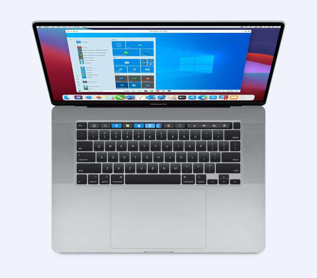 Parallels Desktop en macOS Big Sur