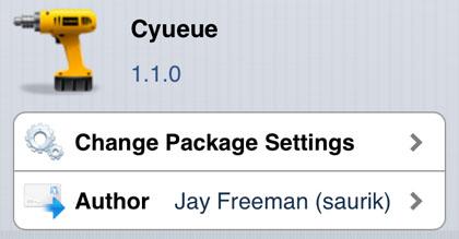 Cyueue retoca Cydia iOS