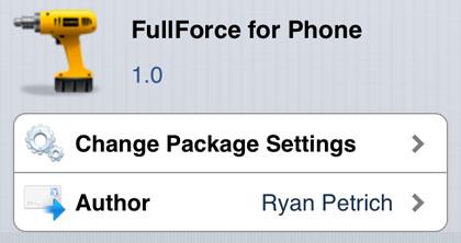Aplicaciones de iPhone 5 de Fuerza completa