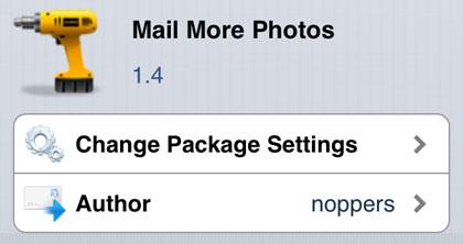 Correo Más fotos iPhone