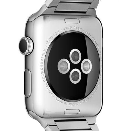 Monitor de frecuencia cardíaca Apple Watch
