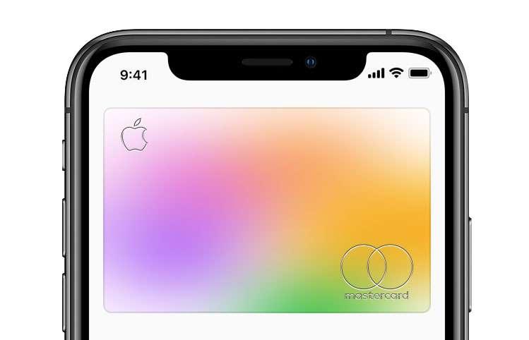 Aplicación Apple Card Wallet