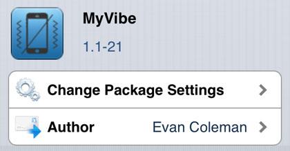 MyVibe retoca Cydia iOS