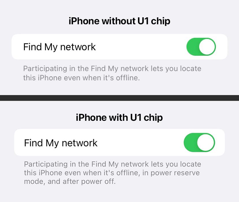 Buscar con el iPhone desactivado